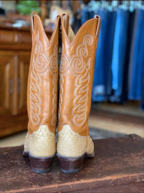Tony Lama Snakeskin Boots