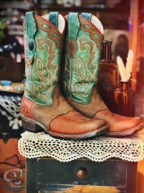 Tombstone Turquoise Boots