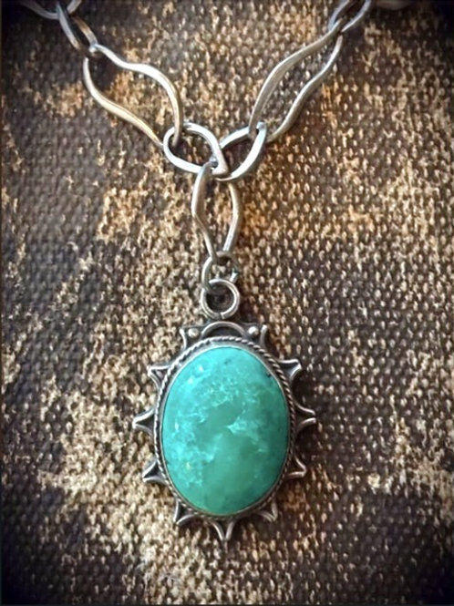 Sterline Turquoise Necklace