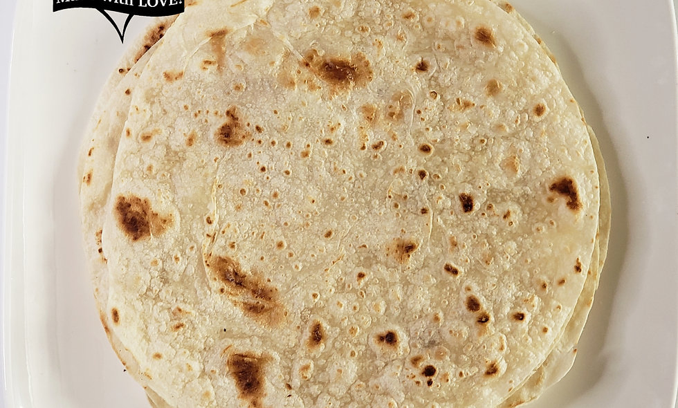 Healthy Flour Tortillas | All Natural | Non-GMO | Plant Based | 4 Ingredients