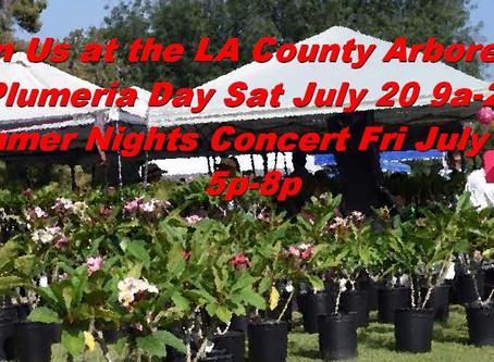 LA County Arboretum Celebrates Plumeria