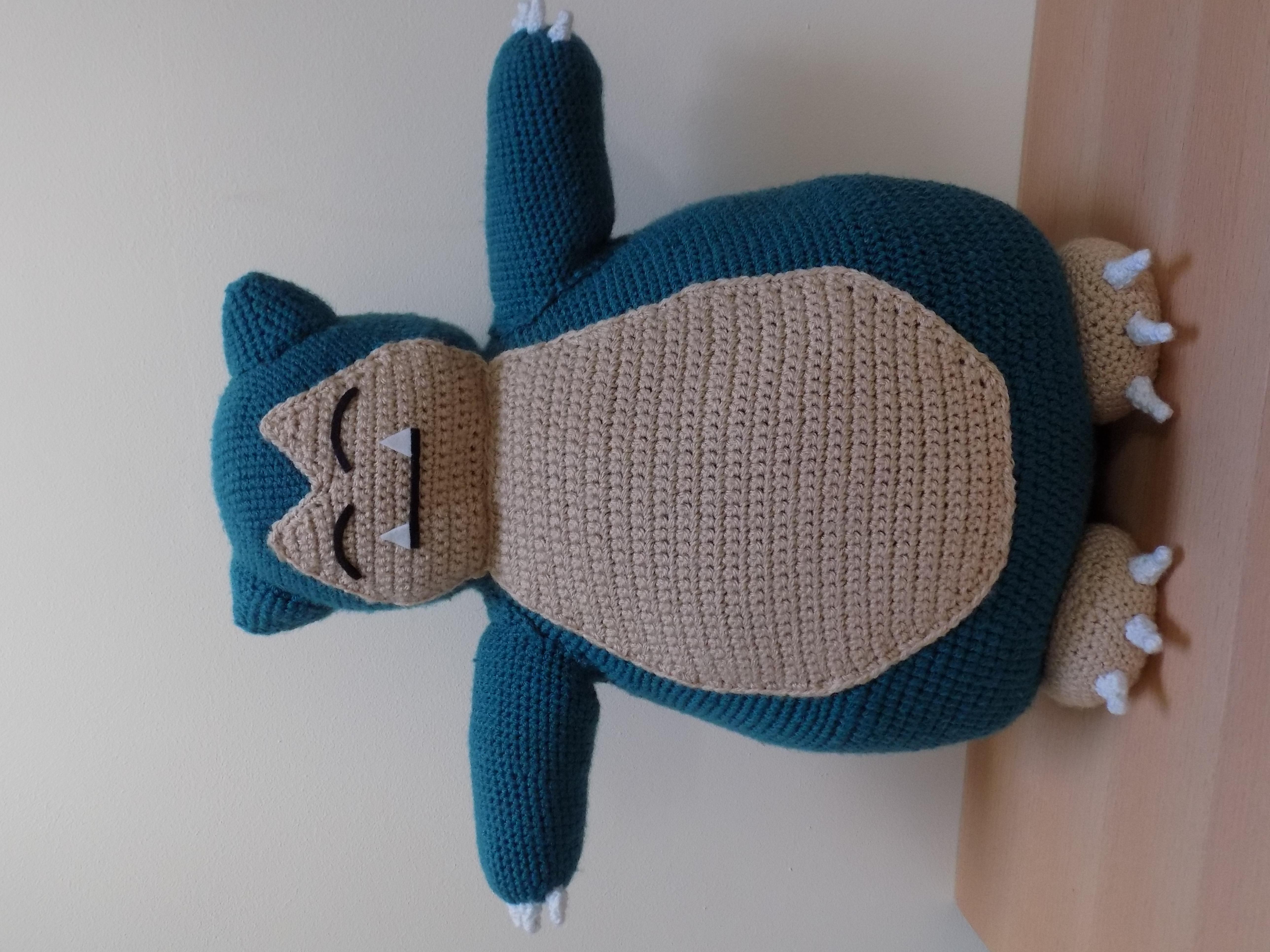 Snorlax Hat Free Crochet Pattern | 3864x5152