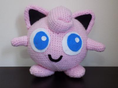 Free Jigglypuff Pokemon Crochet Pattern Crochet Blogger