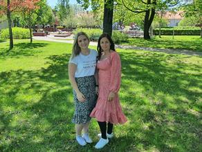 Josefine och Johanna ska etablera Bokadero i Dalarna.