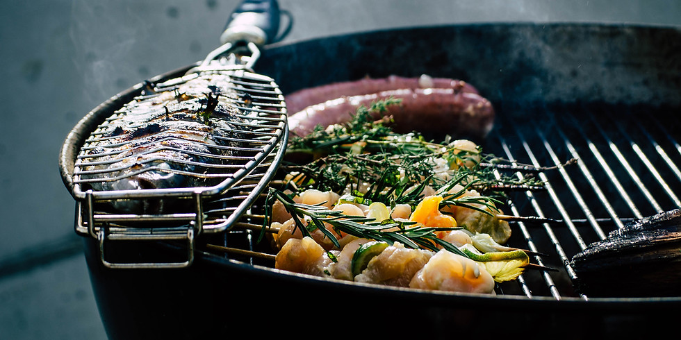 Grillparty mit Livemusik