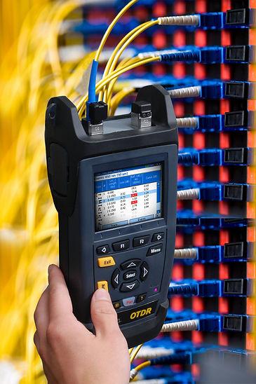 Certificacao de fibra otica com OTDR