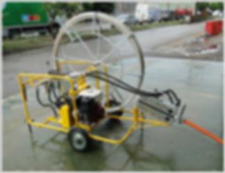 lançamento fibra otica metodo pneumatico