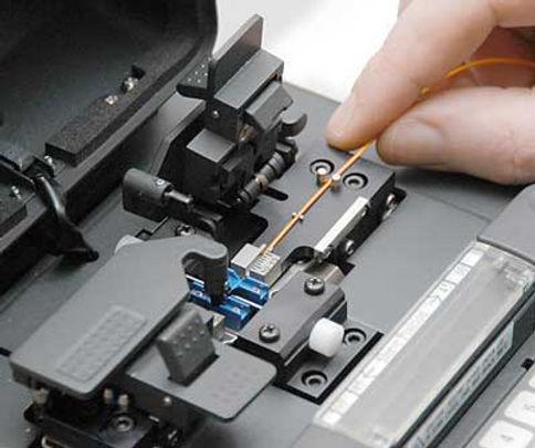 maquina de fusao de fibra otica