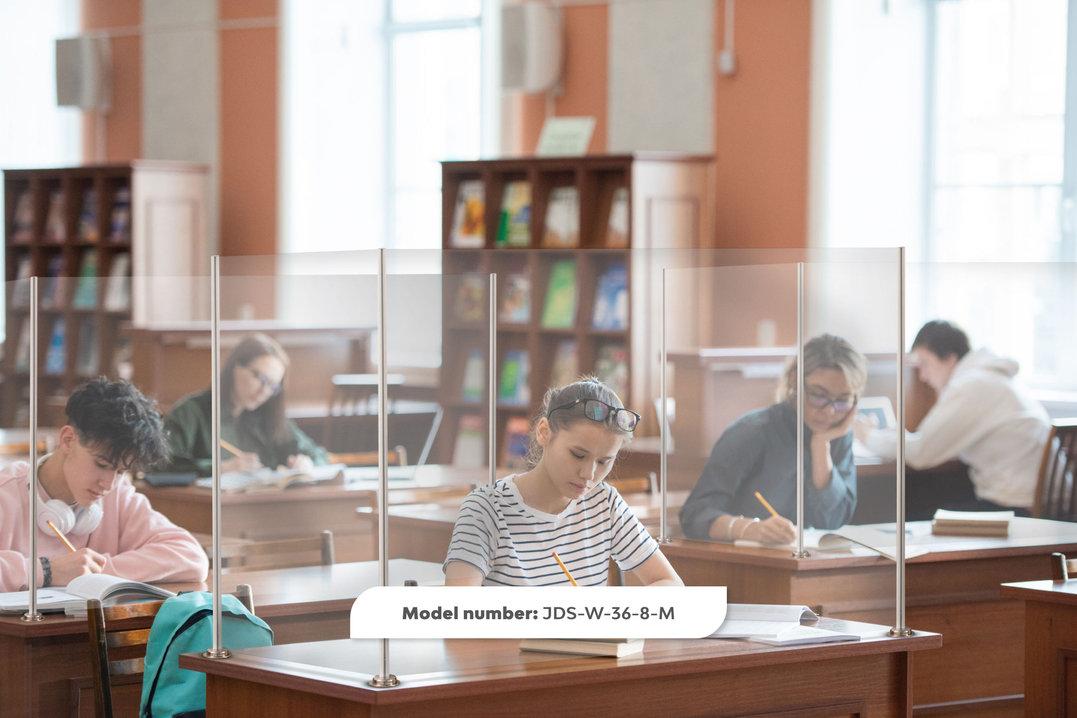 U Shape desk wrap in college setting