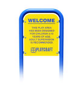 Age Appropriate Sign, 5-12 HDPE