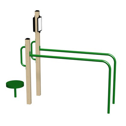 Horizontal Ladder and Balance Station