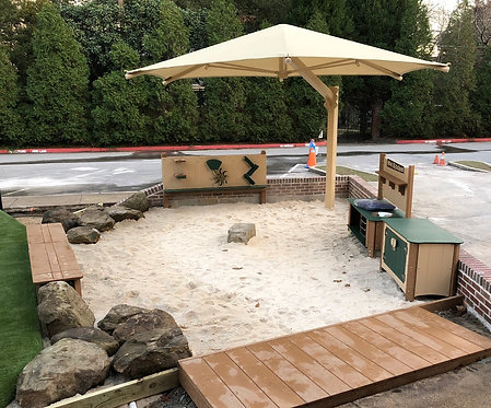 Cantilever Shade & Sand Bunker