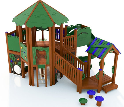 Tree House Play Structure