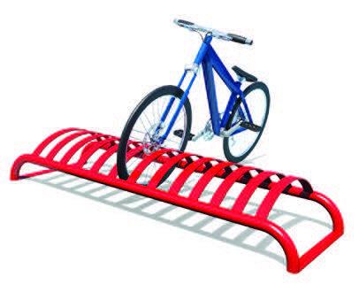 Keyhole Bike Rack