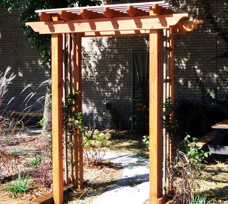5' Painted or Stained Arbor