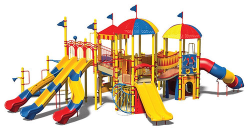 Circus Theme Play Structure