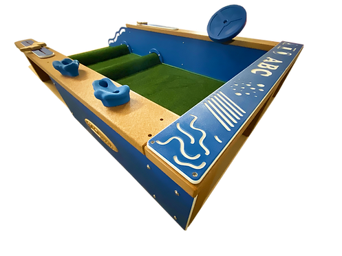 Infant Activity Space with Rolling Hills