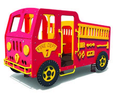Multi-Spring Fire Truck