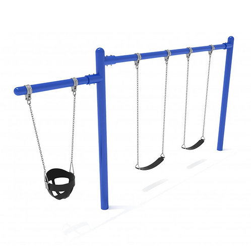1 Cantilever/1 Bay Single Post Swing