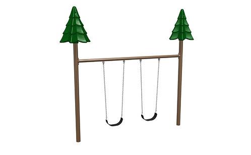 8' Single Post Tree Swing
