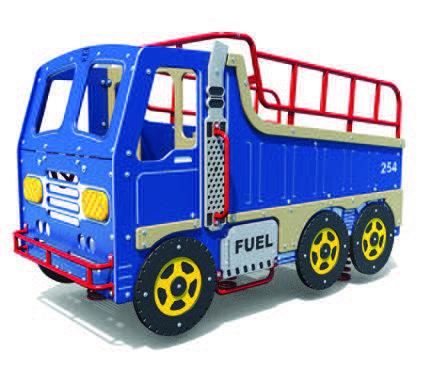 Multi-Spring Dump Truck