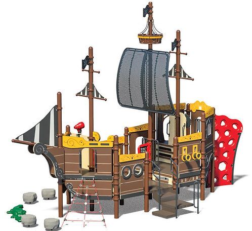 Pirate Theme Play Structure