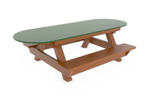 7' ADA Toddler Picnic Table