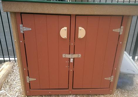 Storage Unit w/ Doors