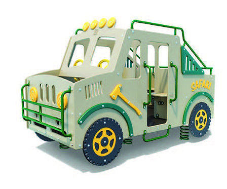 Multi-Spring Safari Truck