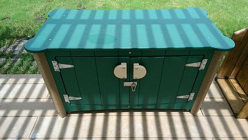 Art Storage Cabinet w/o Casters