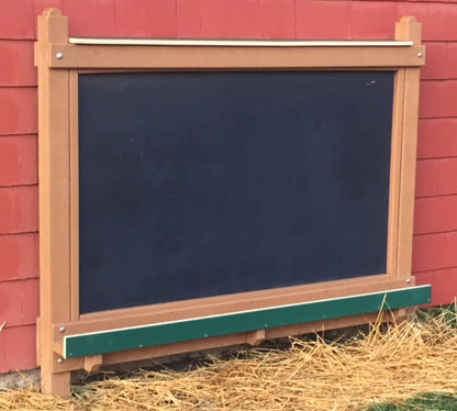 Chalkboard Easel w/o Tray (Toddler/Preschool/Adult various hts)