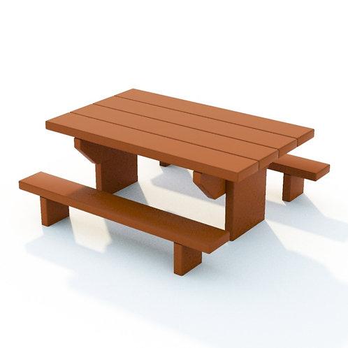 Toddler Natural Picnic Table