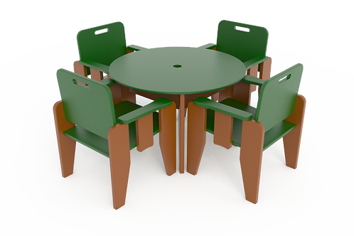 Café Table with Chairs