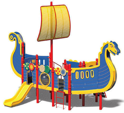 Viking Theme Play Structure