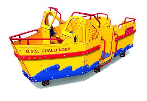 Multi-Spring Speed Boat