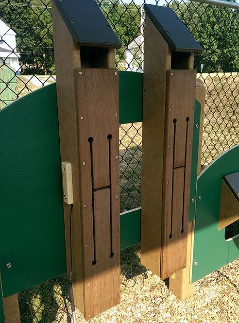 Wood Tongue Drum Panel