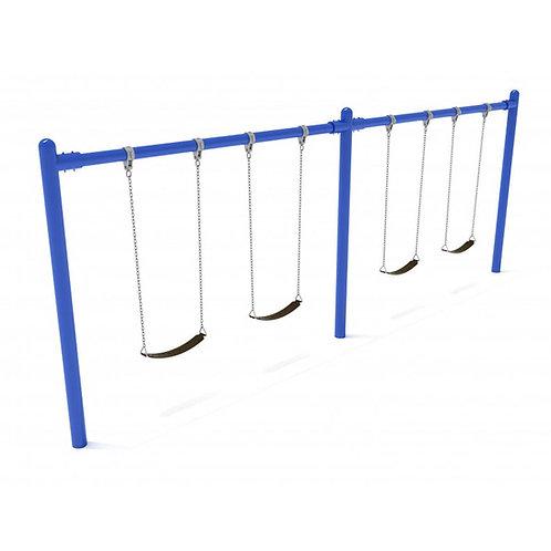 2 Bay Single Post Swing