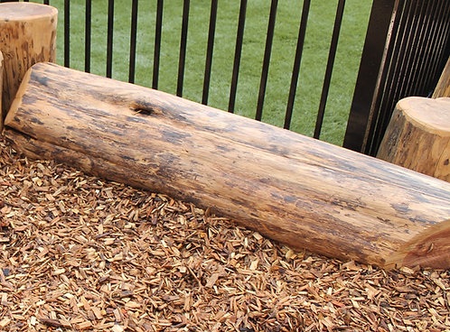 4' Natural Horizontal Log