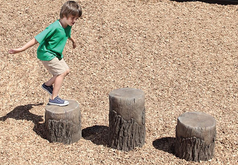 Tree Stumps (2 Small & 1 Medium)