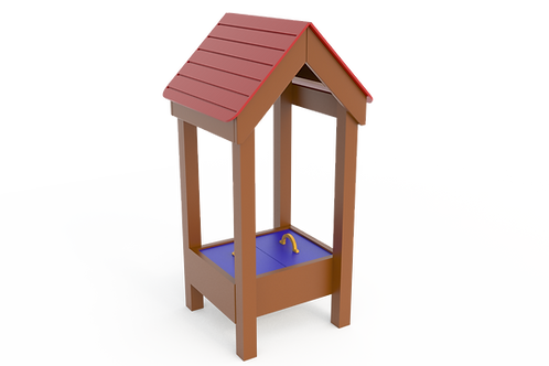 Sand Hut with Roof