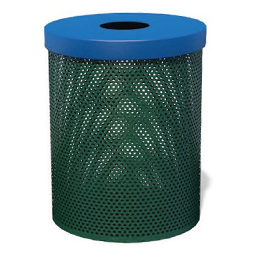 Weather-Buster Trash Receptacle