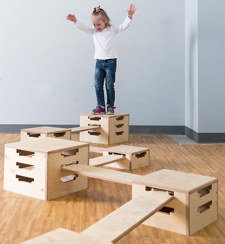 Wooden Balance Set