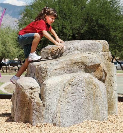 Small Granite Boulder