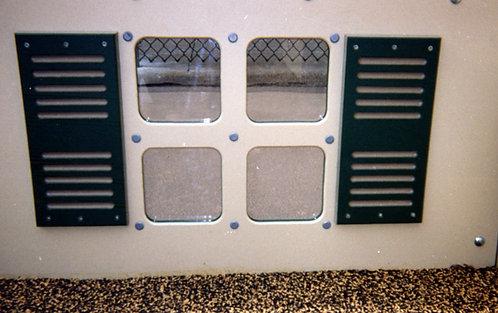 Window Panel w/ Shutters