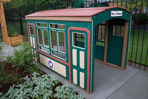 8' Main Street Trolley