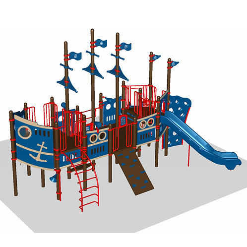 Nautical Theme Play Structure