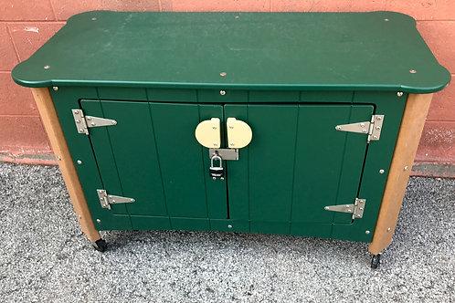 Art Storage Cabinet w/ Castors