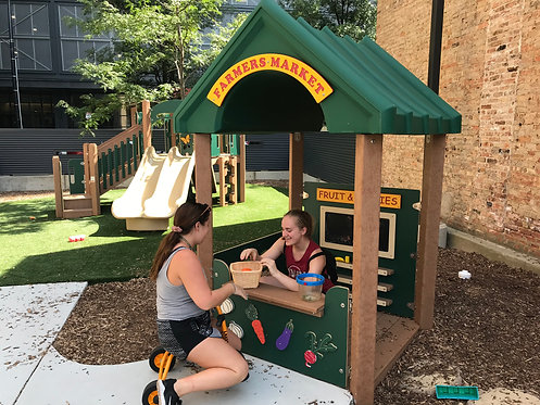 4' x 4' Farmer's Market Playhouse