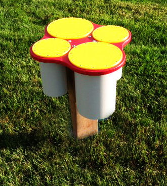 In-Ground Bongos (Toddler/Preschool various hts)