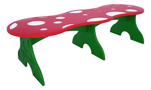 Toddler Mushroom Bench